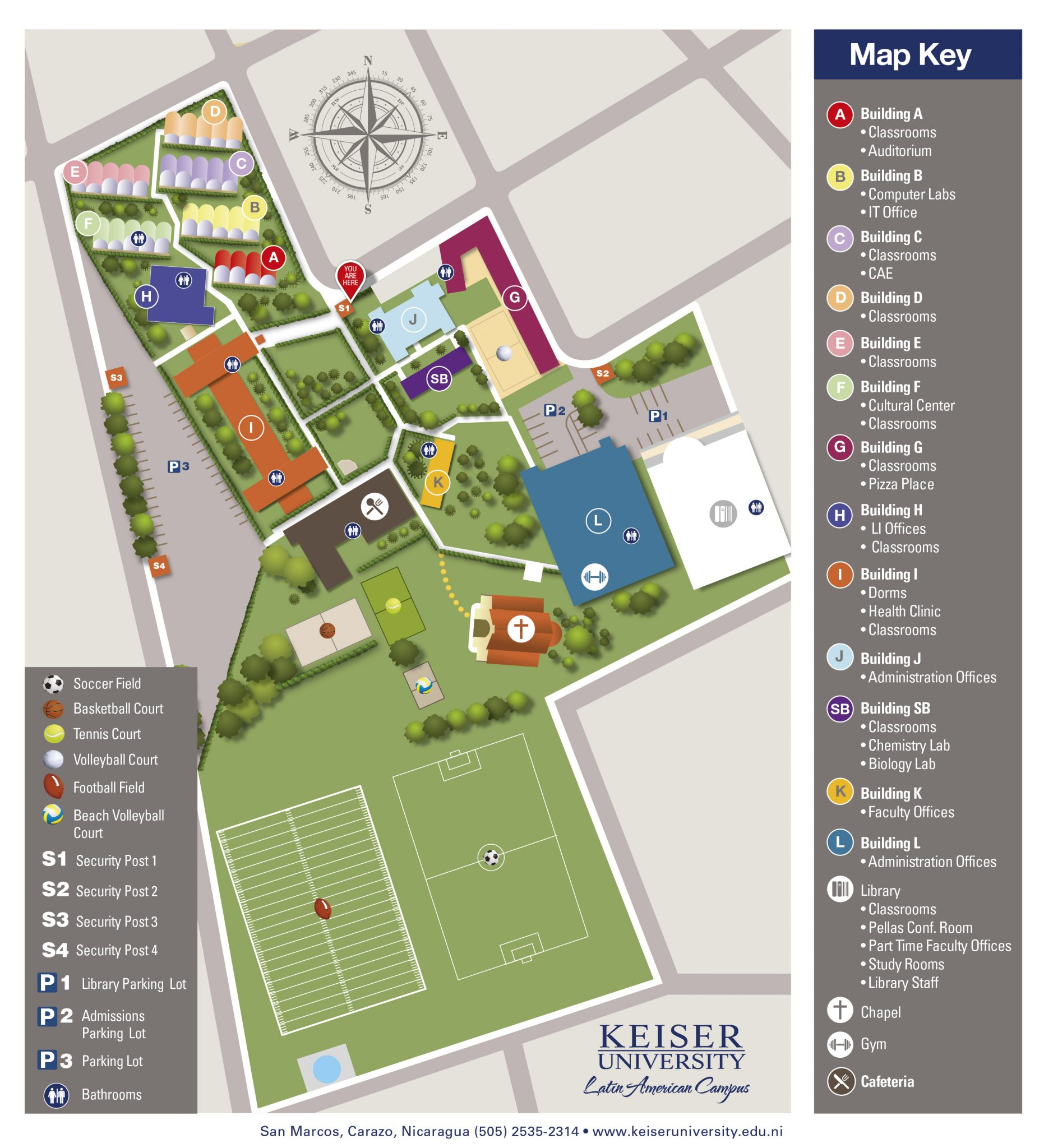 Lander Campus Map.Home Keiser University