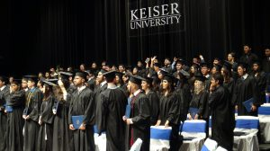 keiser university graduation