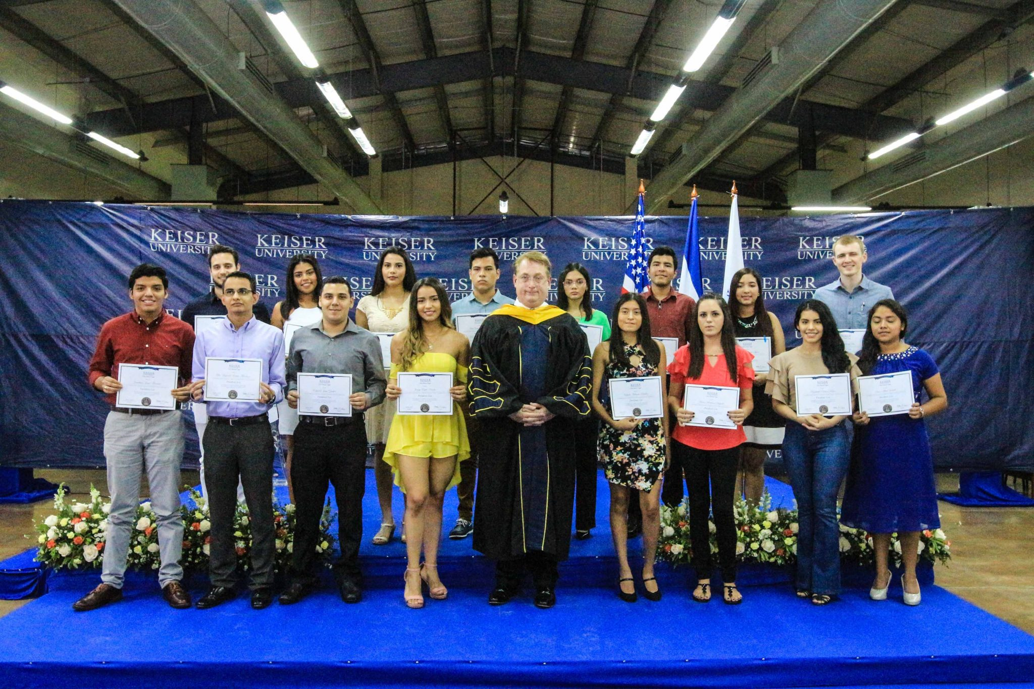 english speaking university in central america