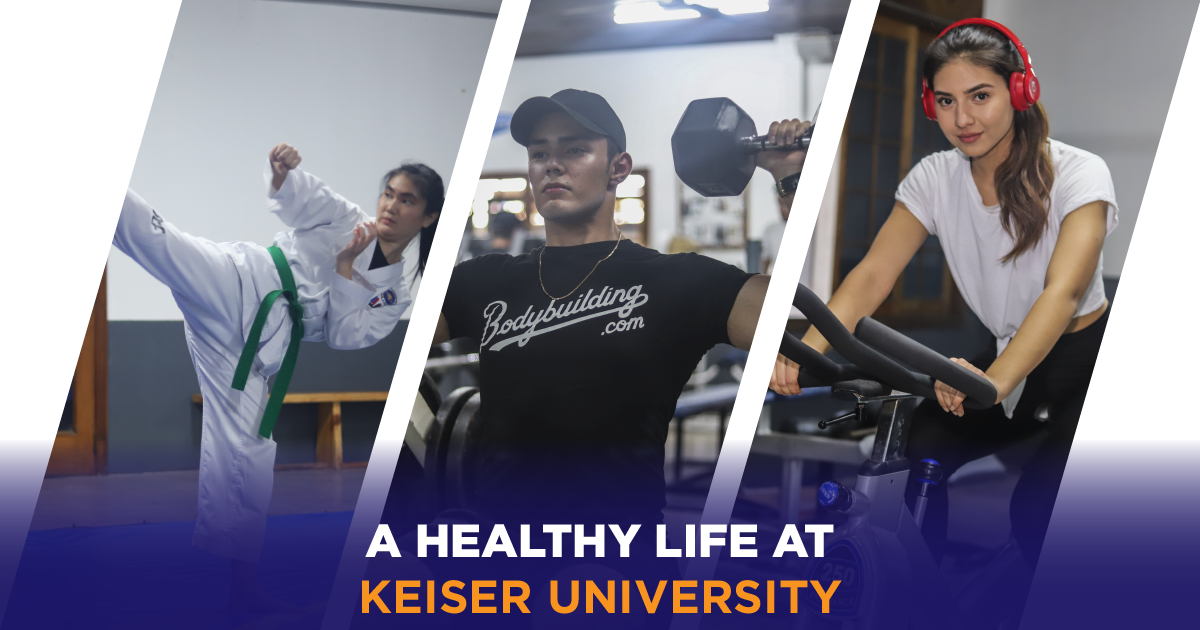 lifestyle in keiser university latin american campus