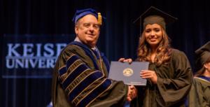 graduate in keiser university