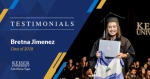 carreras de keiser university nicaragua